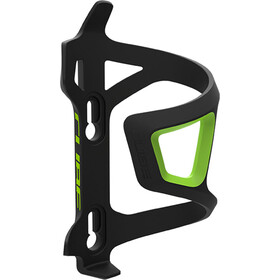 Cube HPP Left-Hand Sidecage Flaskeholder, black/green
